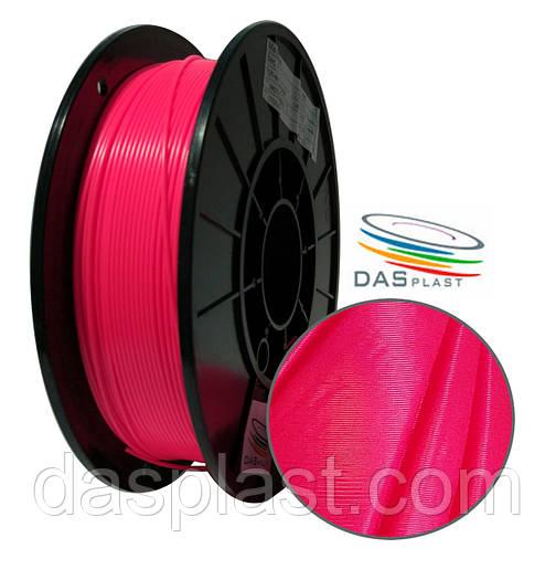 АБС нить 0,5 кг коралловый неоновый, 1.75 мм пластик для 3d печати