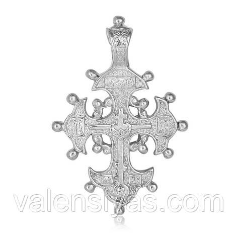 Срібний хрестик П2/045, фото 2