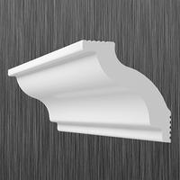 Плинтус потолочный багет Киндекор C-45 (45*40)