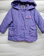 Детская куртка-пальто Berni  1-2 года