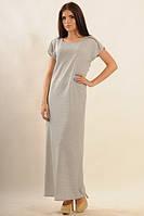 Платье женское Круиз Моно серый меланж