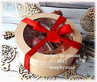 Тубус из шпона с прозрачной крышкой, 18х7, фото 1