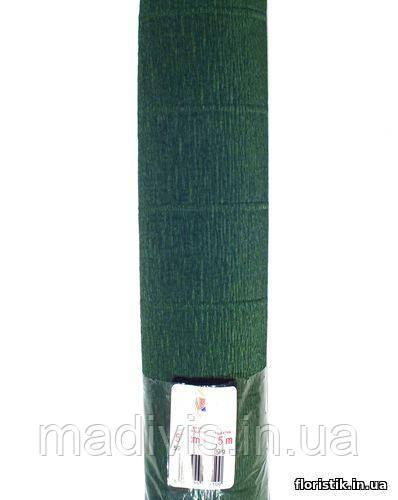 Бумага гофрированная, 591 зеленая