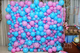 Стена Фотозона из шаров для фотосессии