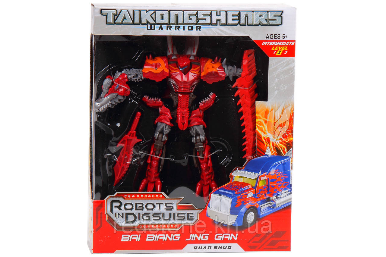 Робот-трансформер динозавр Robots in Digsuise с аксессуарами 5013 №4