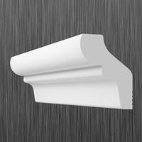 Плинтус потолочный багет Киндекор F-35 (36*30)