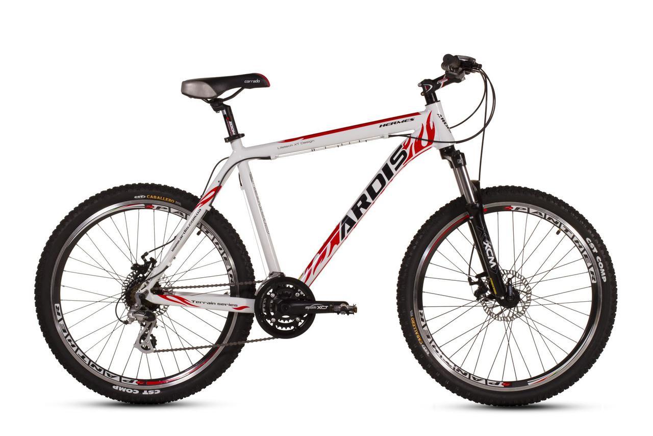 """Горный велосипед ARDIS HERMES MTB 26"""" 17""""  Белый/Красный"""