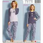 Скидки до 30% на теплые пижамки
