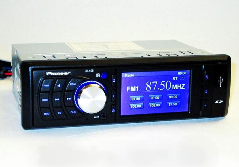 """Автомагнітола Pioneer 3""""Video екран+USB+SD+Відеовихід"""