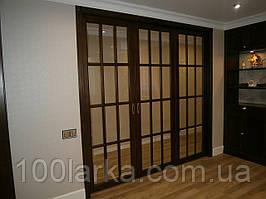 Раздвижные межкомнатные перегородки двери из ясеня