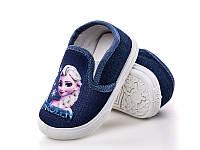 Детская спортивная обувь для садика. Детские кеды-тапочки бренда СВТ.Т - Meekone для девочек (рр.с 16 по 21)