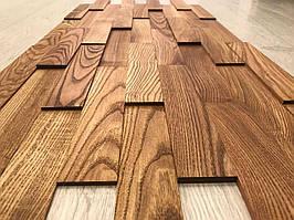 Стеновая панель 3D из дерева (толщина 3-5-7-9 мм)