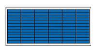 Солнечная батарея 60 Вт  поликристаллическая, фото 1