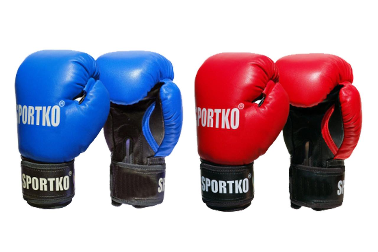 Боксерские перчатки кожвинил ПД-1 12 унций.
