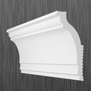 Плинтус потолочный багет Киндекор N-80 (30*70), фото 2