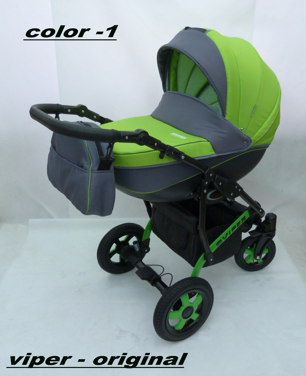 Коляска Вайпер  (Viper) 2 в 1. Color 1. Лучшая универсальная коляска