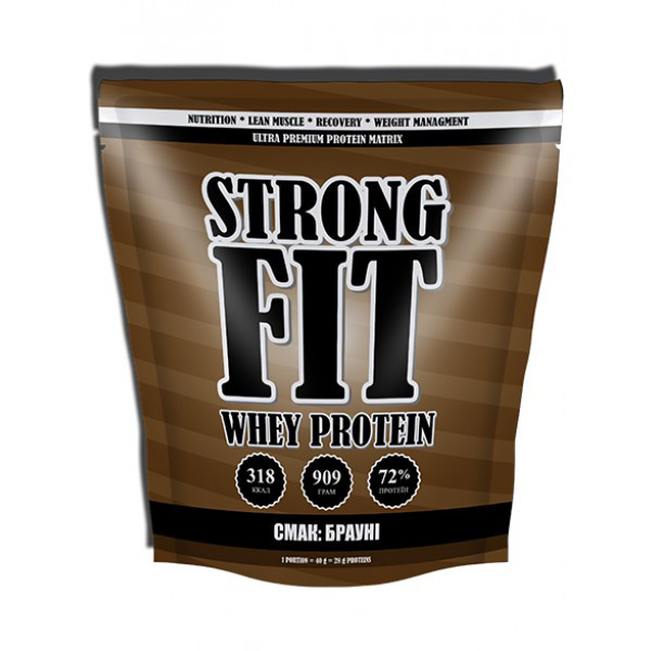 Протеин Strong FIT Whey Protein 909 g