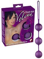 Вагинальные шарики - Velvet Balls Triple (506001)