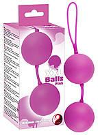 Вагинальные шарики - XXL Balls, pink (509647)