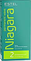 Набор для химической завивки NIAGARA (для нормальных волос) Estel, 2*100 мл.