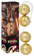 Вагинальные шарики - Orgasmuskugeln Gold 4er-Set (512150)
