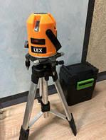 Лазерный уровень нивелир LEX LXNL01 (планировщик)+ штатив Польша