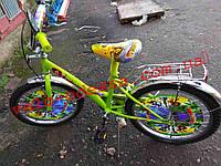 Детский двухколесный велосипед мадагаскар 20 дюймов, фото 1