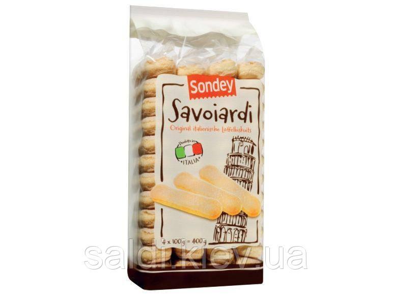 Бисквитные палочки савоярди Sondey Savoiardi, 400г.