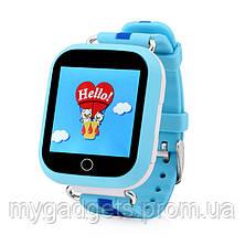 Детские GPS часы Smart Baby Watch Q100S с цветным сенсорным экраном, фото 2