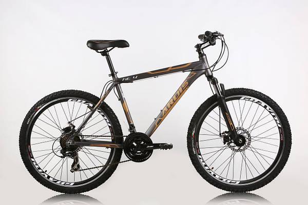"""Горный велосипед ARDIS HT4  26"""" 19""""  Серый/Оранжевый"""