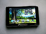 """GPS навігатор 5"""" Pioneer 4Gb + FM трансмітер, фото 4"""
