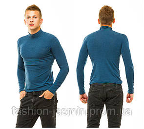 Гольф мужской кашемировый теплый  джинс