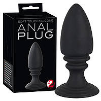 Пробка анальная, анальные секс-игрушки - Silicone Plug Anal Experiment