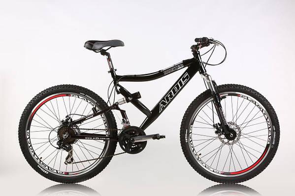 """Горный велосипед ARDIS HUNTER AMT 26"""" 19""""  Черный"""