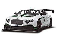 Машина Bentley Continental GT3, масштаб 1:14, машинка на радиоуправлении Rastar, бентли растар