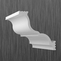 Плинтус потолочный багет Киндекор S-150 (100*110)