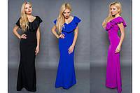 """Женское вечернее платье в пол """"Liana""""   3 цвета в наличии"""