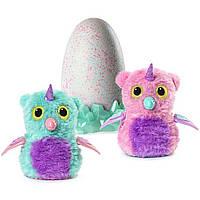 Интерактивная игрушка Spin Master  Hatchimals Блестящий сад Совенок в яйце Розовый/голубой