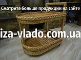 Столы плетеные из лозы
