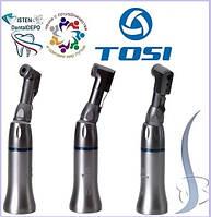 Угловой наконечник TOSI TX-71В: фиксация боров защёлкой (подшипники).