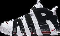 Женские кроссовки Nike Air More Uptempo White/Black