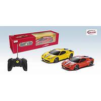 Машина Ferrari 458 Speciale A, масштаб 1:24, машинка на радиоуправлении Rastar, феррари растар