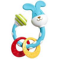 Погремушка-прорезыватель для малыша с рождения Зайчик  Tiny Love (Тайни Лав)