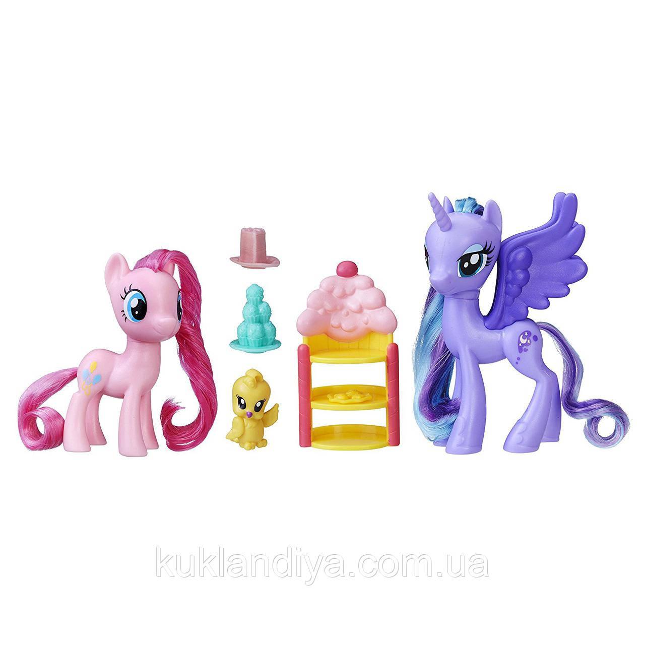 Набор My Little Pony Принцесса Луна и Пинки Пай Празднование со сладостями