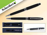 Ручка шариковая, металлическая с поворотным механизмом в подарочной упаковке
