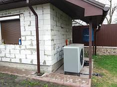 Дом 200 метров. Единственный источник тепла и ГВС