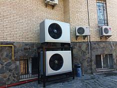 Офисный центр 1200 метров, Киев. Модернизация системы на отопления