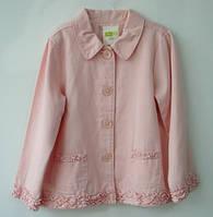 Пиджак для девочки 4-5 лет Crazy8, пудра  (піджак для дівчинки рожевий)