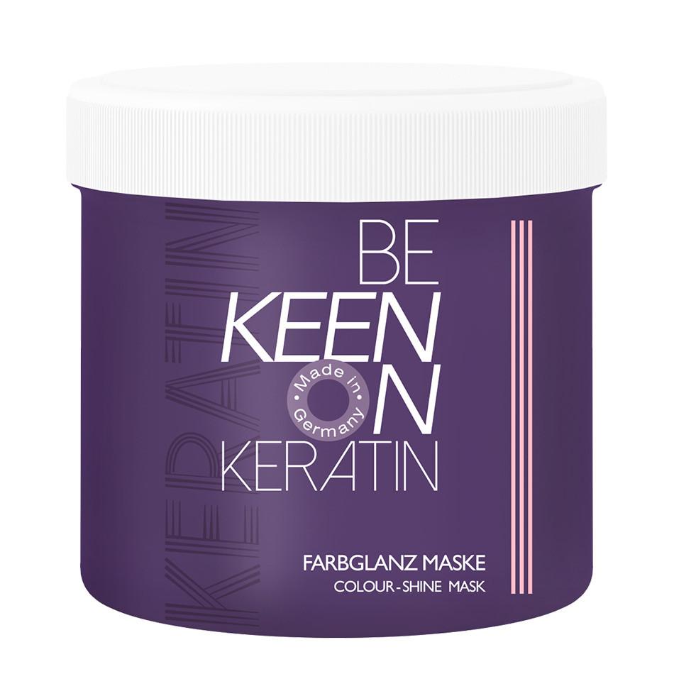 Маска с кератином «Стойкость цвета» KEEN KERATIN, 200 мл.