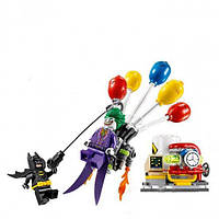 """Конструктор Bela Batman 10626 (аналог Lego The Batman Movie 70900) """"Побег Джокера на воздушном шаре"""" 136 детал, фото 1"""
